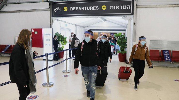 Меры безопасности при коронавирусе в аэропорту имени Бен-Гуриона/ фото: РБК