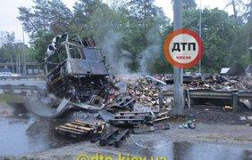 Место ДТП / Фото: ДТП.Киев