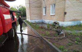 Последствия непогоды в Мелитополе / Фото: ГСЧС