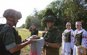 Военный эшелон из России/ Фото: mil.by
