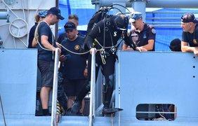 Учения в Черном море/ Фото: ВМС ВС Украины