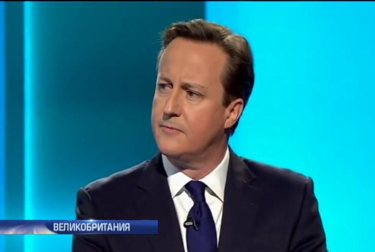 В Британии консерваторы и лейбористы устроили дуэль на теледебатах