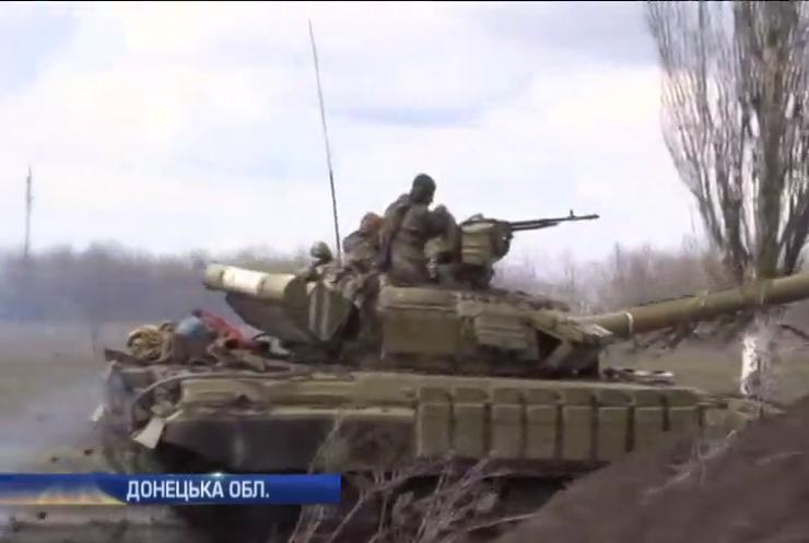 Військові у Широкиному підірвалися на протитанковій міні