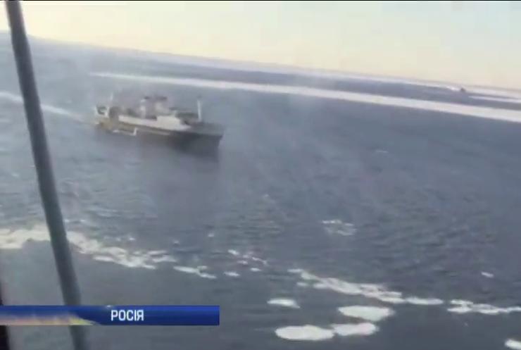 """Моряки з судна """"Далекий Схід"""" дісталися берега"""