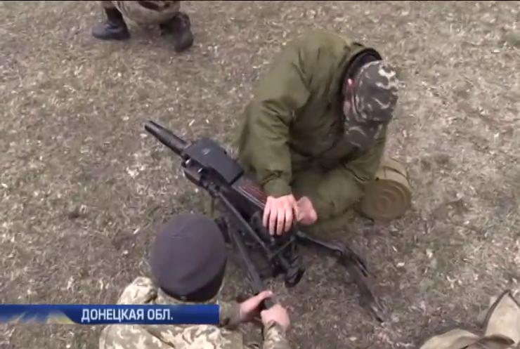 Киборги из 93 бригады готовят новобранцев в Чугуеве (видео)