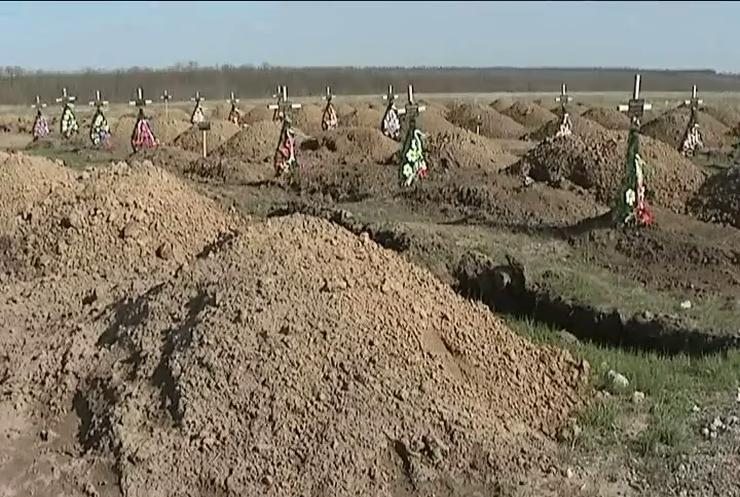 Волонтеры своими силами вывезли с Донбасса 550 тел военных