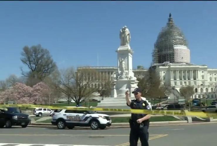 До Капітолію у Вашингтоні пробрався самогубець зі зброєю (відео)