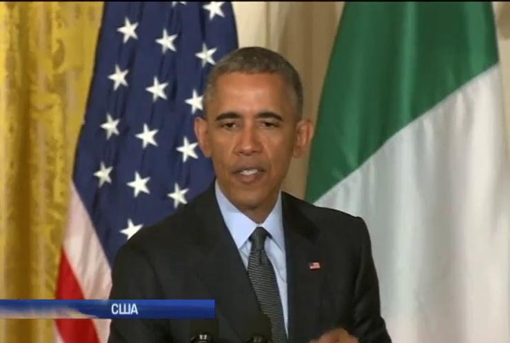 Обама просить Європу зберегти санкції проти Росії