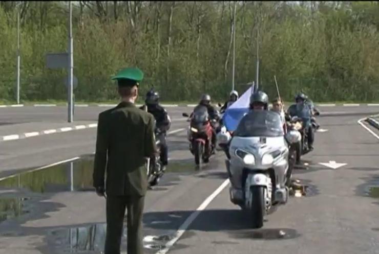 Байкерів Путіна не пустили до Литви без техогляду мотициклів