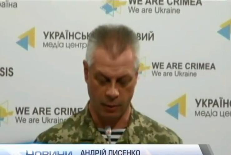 Противник танками і артилерією гатить по військових під Донецьком