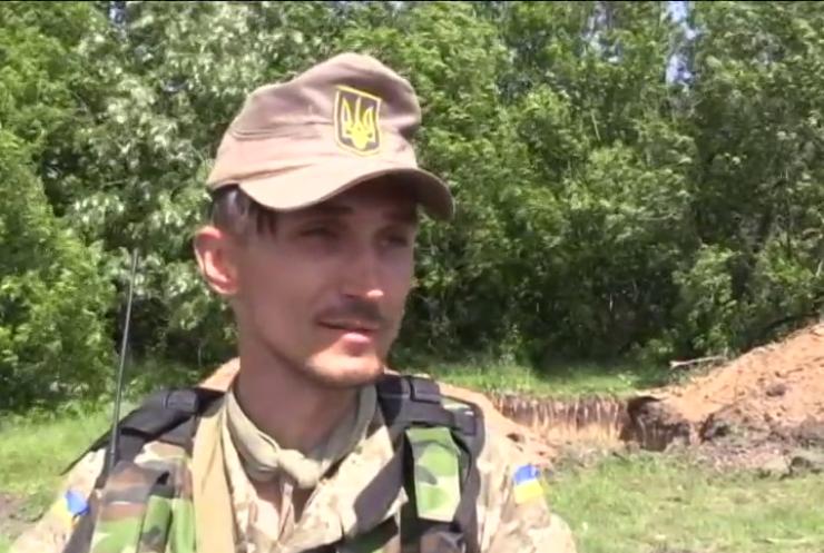 Военным под Донецком нечем ответить на обстрелы артиллерии