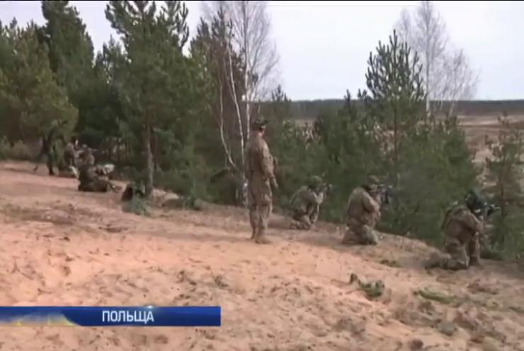 НАТО розпочала навчання в Польщі та країнах Балтії