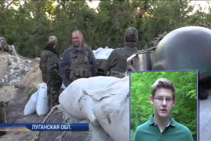 В результате обстрела в Станице Луганской погиб военный