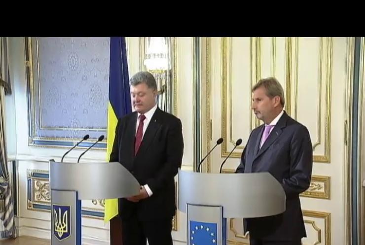 Порошенко чекає від ЄС продовження санкцій проти Росії