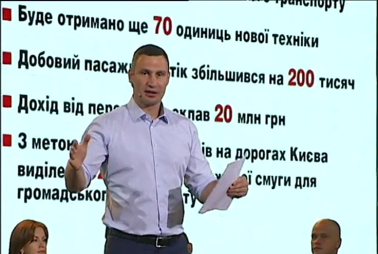 Віталій Кличко обіцяє Wi-Fi у всьому метро Києва