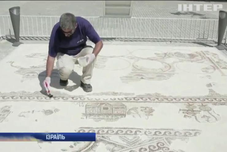 В Ізраїлі покажуть мозаїку часів Візантії
