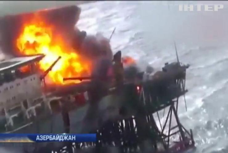 В аварии на нефтеплатформе в Каспийском море погибли 32 человека
