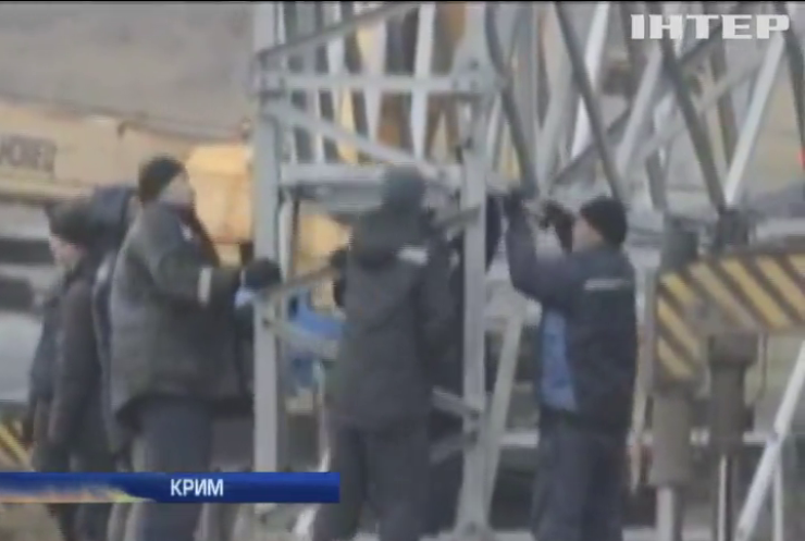 Москва зменшила потік електроенергії до Криму