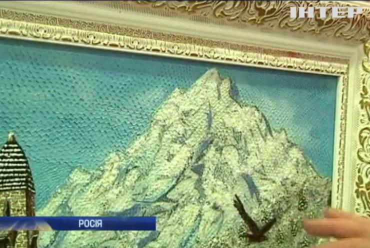 В Росії виготовляють картини зі шкіри риби