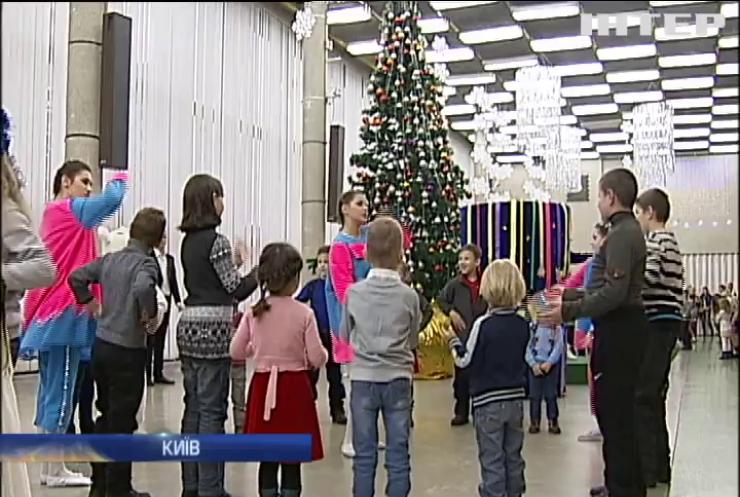 Дітям з особливими потребами влаштували новорічне шоу у Києві
