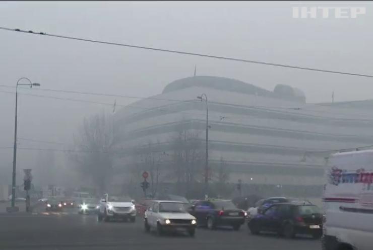У Боснії закрили школи через смог