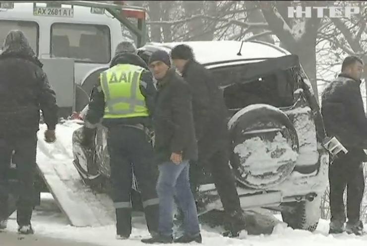 В Украине объявили штормовое предупреждение из-за снегопадов