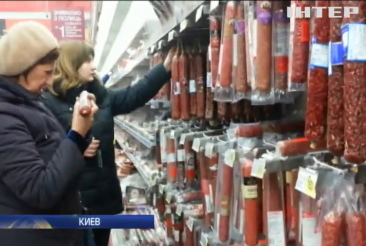 Киевляне перед Новым годом штурмовали супермаркеты