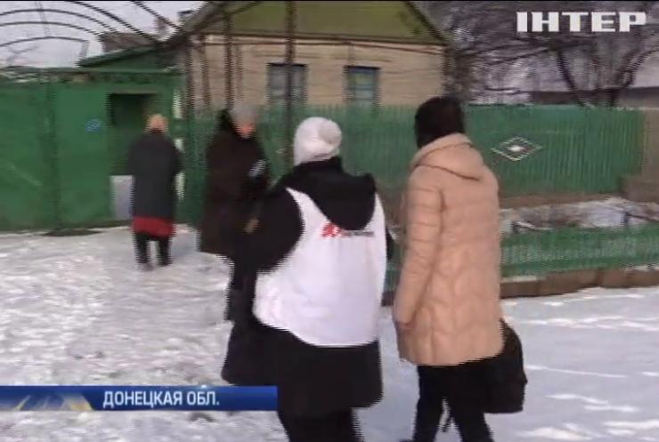В селе на фронте Донбасса со страхом ждут гриппа