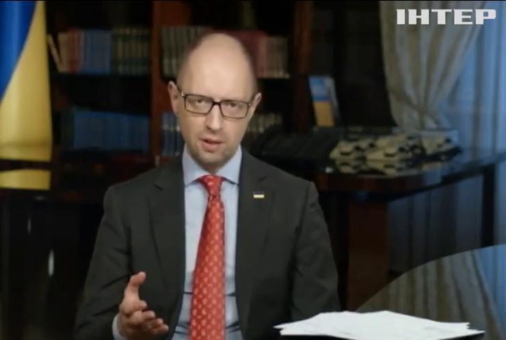 Яценюк обіцяє збільшити виплати військовим