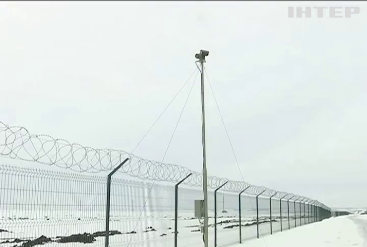 Забор от нелегалов обошелся бюджету в 400 млн гривен