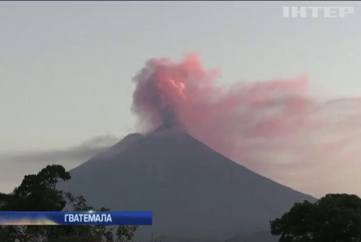 У Гватемалі розпочалося виверження вулкану