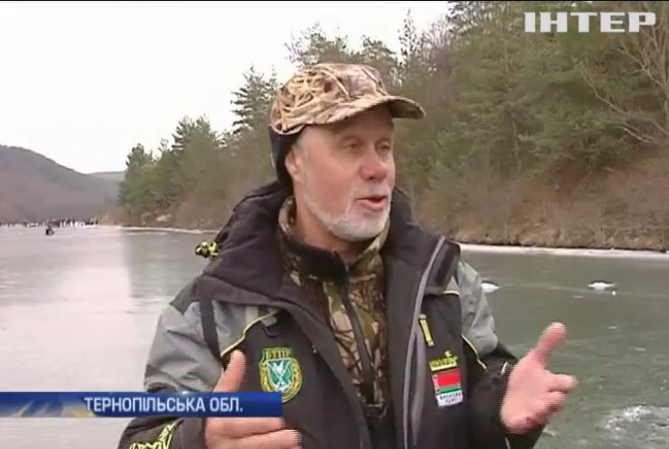 На Тернопільщині світові рибалки змагались за найважчу рибу