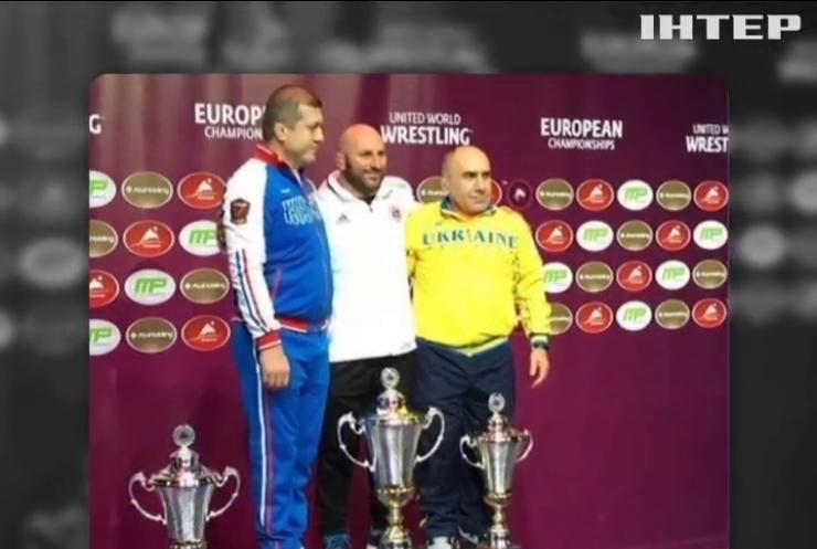 Борці України вибороли три медалі на чемпіонаті Європи