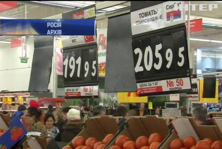 Росія почала завозити овочі фрутки із Сирії