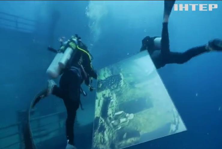 У США влаштували виставку світлин на затопленому кораблі