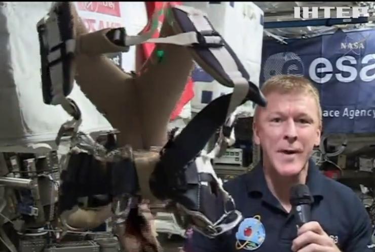 Астронавт Тім Пік готується до марафону у космосі