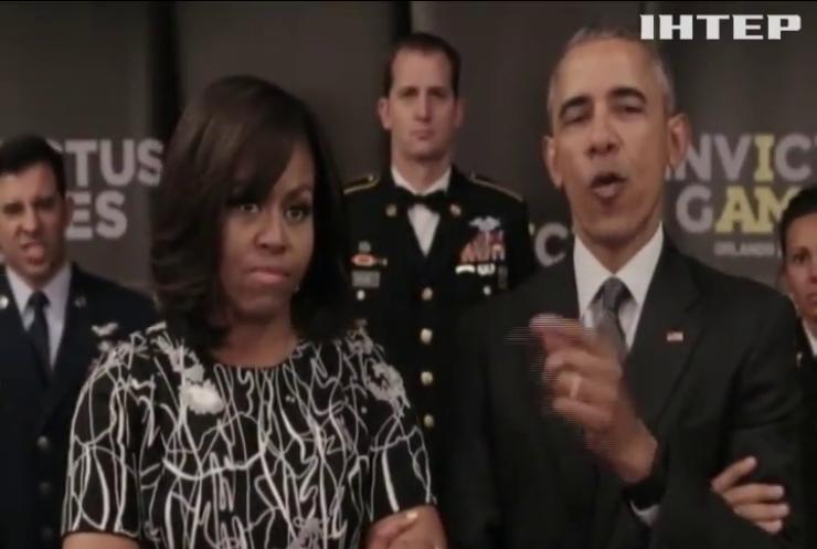 Обама с супругой потроллили в Twitter королеву Великобритании
