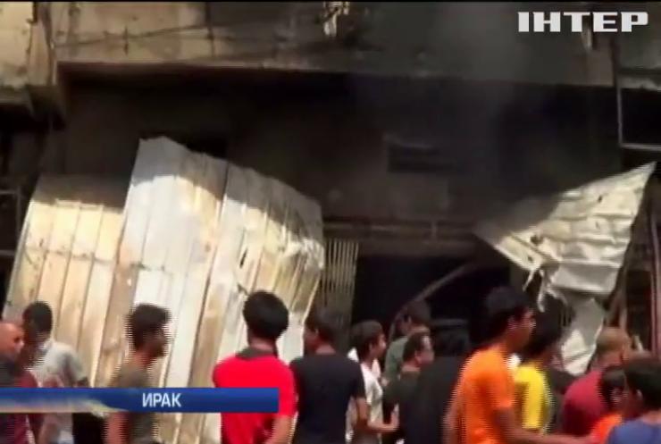 ИГИЛ взяло ответственность за взрывы в Багдаде