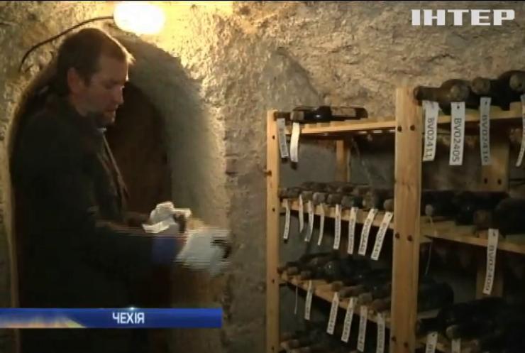 Сомельє Чехії скуштували вино ХІХ століття