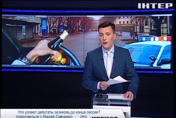 В Кировограде инспектора полиции задержали пьяным за рулем