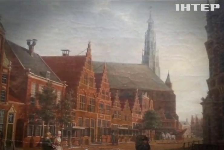 В посольство Нидерландов в Киеве вернули похищенную картину