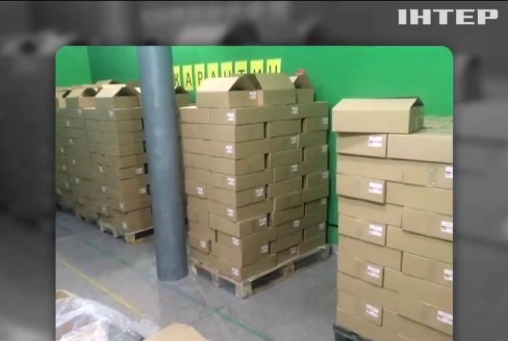 У Дніпропетровську вилучили 150 тис. флаконів фальсифікованого спирту