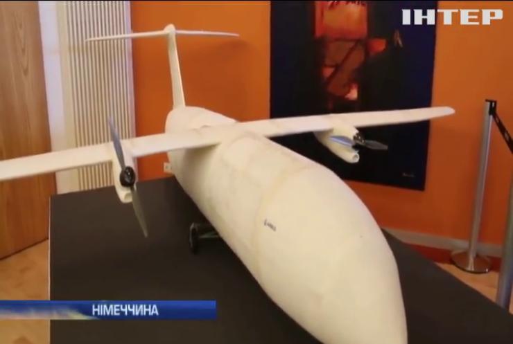 У Берліні представили надрукований на 3D принтері літак