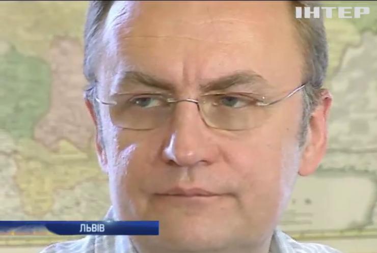 Мер Львова знайшов кошти на ліквідацію пожежі на сміттєзвалищі