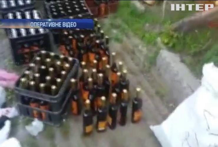 На Одещині вилучили тисячу літрів підробної горілки