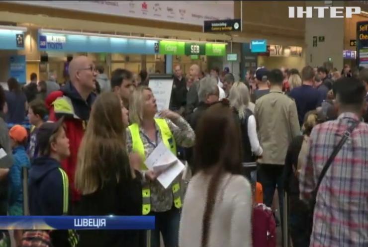 У Швеції страйк пілотів паралізував авіасполучення