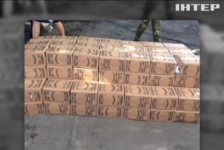 На Дніпропетровщині вилучили тонну підробного алкоголю