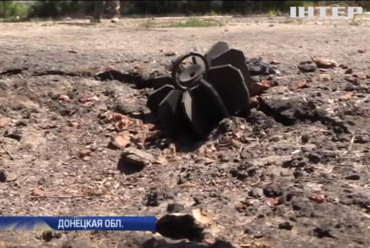 На Ясиноватой развязке местных боевиков сменили военные России