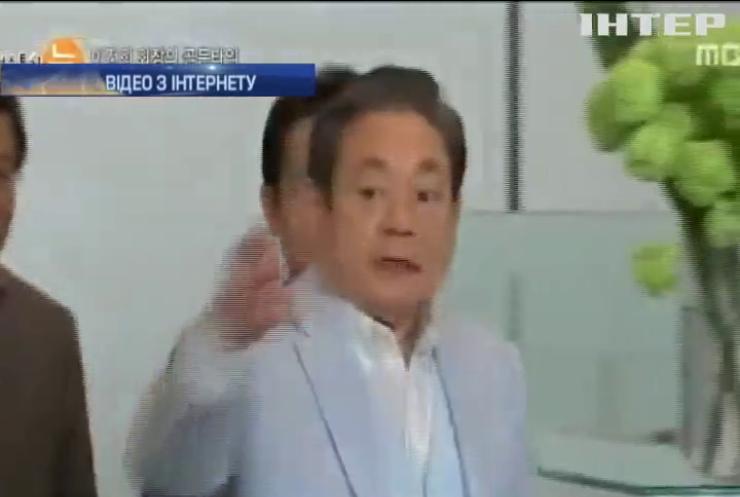 Президент компанії Samsung опинився в центрі секс-скандалу
