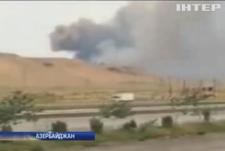 В Азербайджане прогремели взрывы на воинских складах